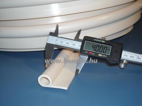 """Szilikon """"P"""" profil (hőálló kemence profil) 13X19 mm 3."""