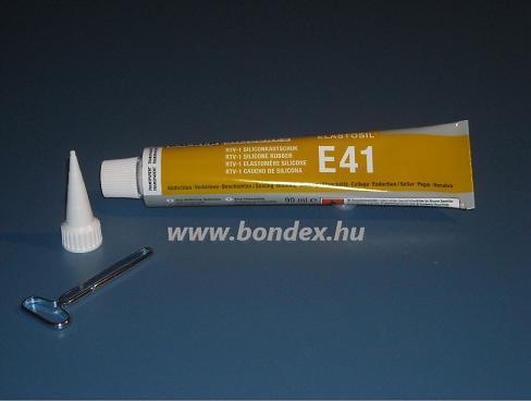 Wacker E41 szilikon ragasztó Elastosil (90ml tubusos)
