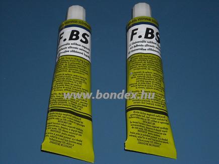FBS szilikon ragasztó és tömítő paszta (tubusos 70 gr)