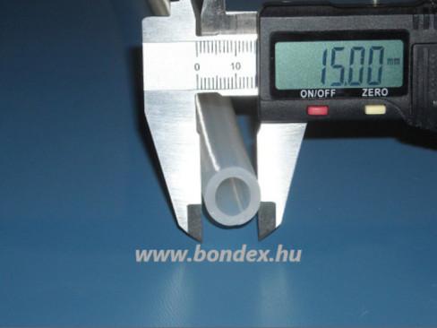 ø 10 x 15 mm szilikon cső
