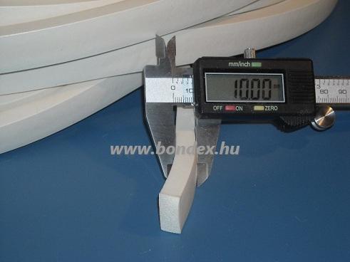Szilikon szivacs szalag 10 x 15 mm