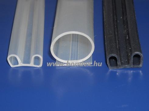 Ragasztható szilikon szigetelő gumi ajtóhoz - ablakhoz