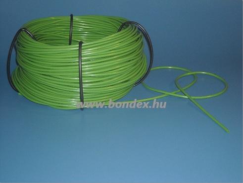 zöld szilikon szigetelő cső