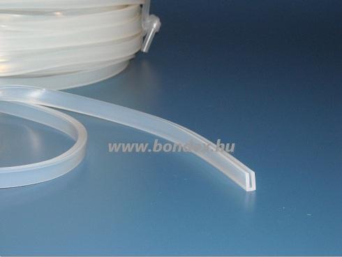 1,5 mm szilikongumi élvédő profil 15.