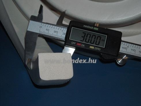 szilikon szivacs szalag 30 x 20 mm
