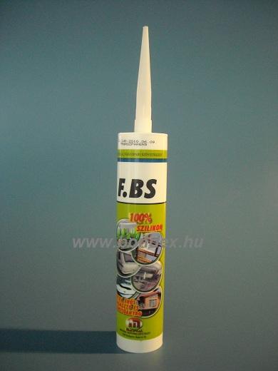 FBS szilikon ragasztó (310ml kartusos)