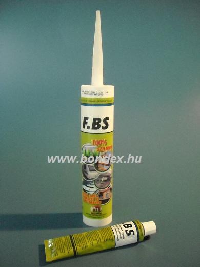 FBS kartusos szilikon tömítő ragasztó (310 ml)