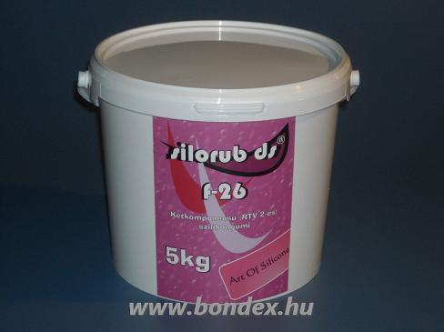 Silorub ds F-26 önthető szilikon (5 kg)