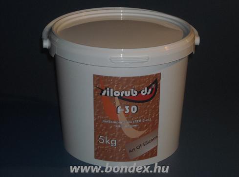 Silorub ds F-30 önthető szilikon / 5 kg /