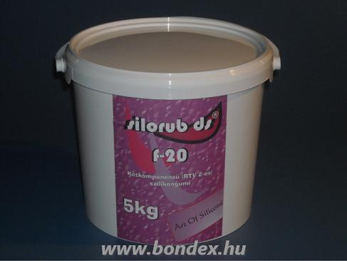 Silorub ds F-20 önthető szilikon / 5 kg /