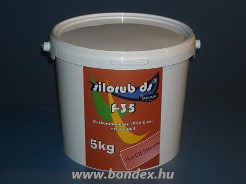 Silorub ds F-35 önthető szilikon / 5 kg /