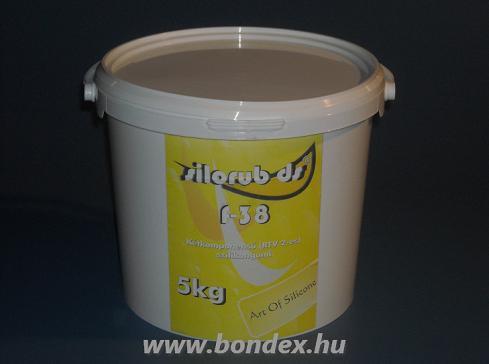 Silorub ds F-38 önthető szilikon (5 kg)