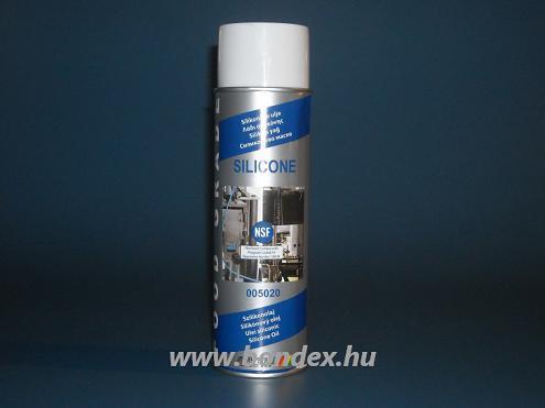 Élelmiszeripari szilikonspray (hőálló szilikon spray 500ml)