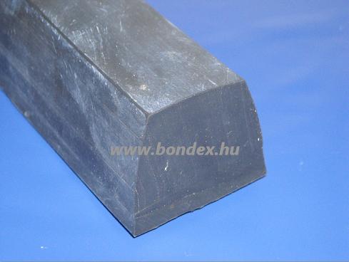 Hőálló szilikon kemence tömítő trapéz profil  61.