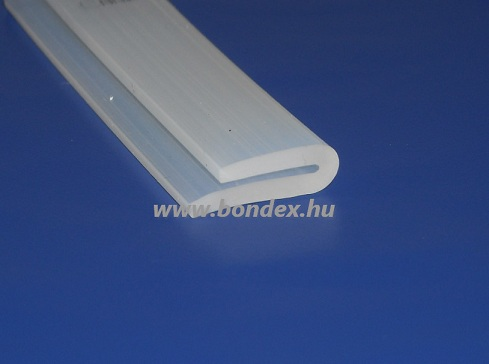 szilikon élvédő u profil 1 mm