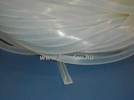 szilikon élvédő profil 6 mm