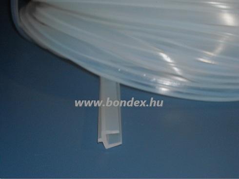 üvegajtó tömítő gumi 6,0 mm-es élre