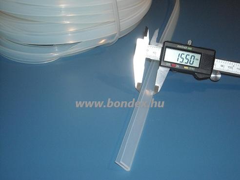 szilikon élvédő profilok 1 mm lemezélre