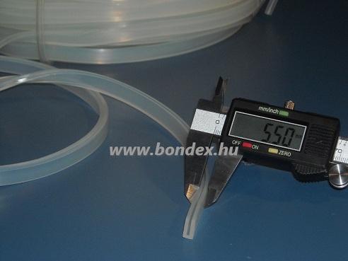 szilikon élvédő profilok 1,5 mm szegélyekhez