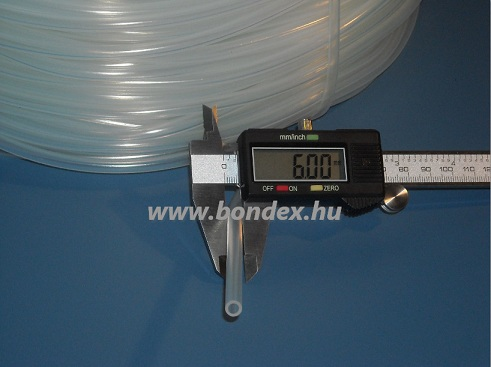 ø 4x6 mm szilikon cső