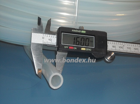 ø 12x16 mm szilikon cső