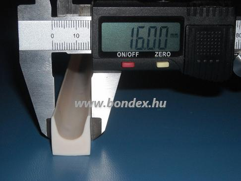 4. magas hőállóságú szilikon kemence tömítő profil (u szilikon profil)
