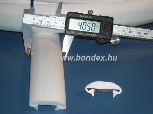 16. magas hőállóságú szilikon kemence tömítő profil