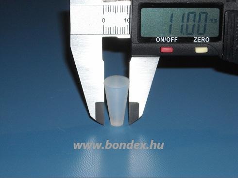 színterező szilikon dugó ( 5,75x11 )