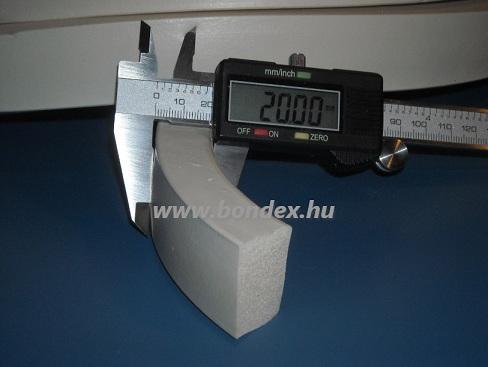 10 x 20 mm szilikon szivacs szalag