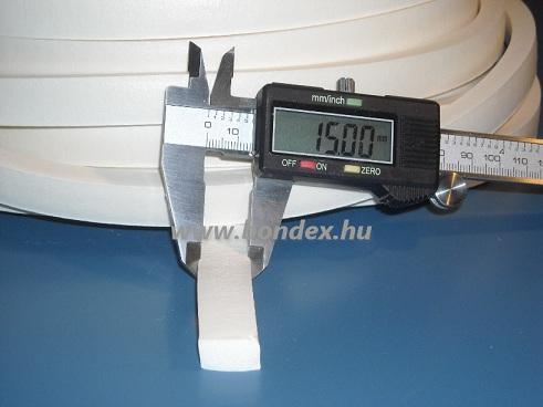 8 x 15 mm szilikon szivacs szalag