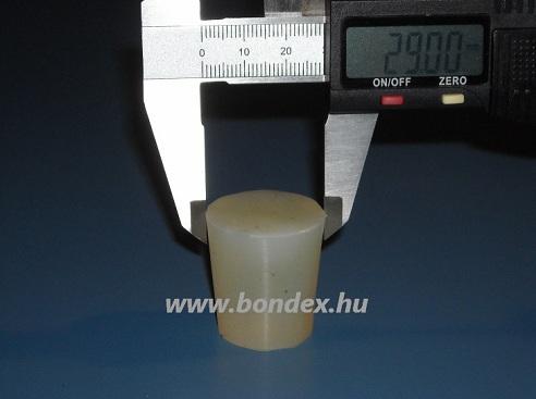 Borászati szilikon dugó 24 / 29 mm