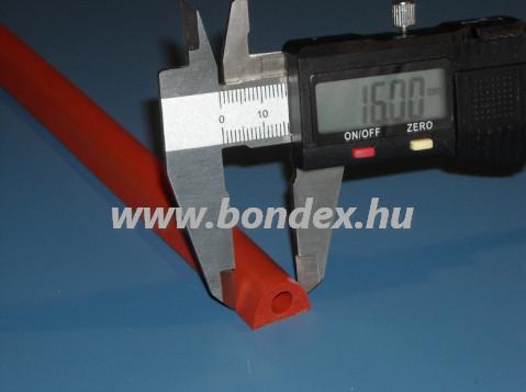 29. magas hőállóságú szilikon kemence tömítés (hőálló D profil)