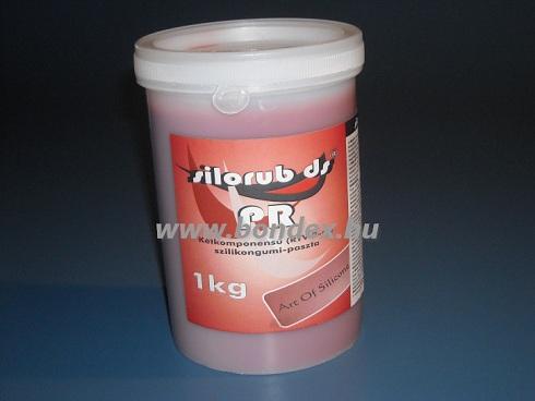 szilikon paszta (vörös szilikonpaszta, 1kg)
