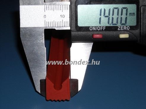 33. Magas hőállóságú szilikon kemence tömítő profil