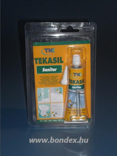 Szaniter szilikon tömítő TKK (60ml tubusos)