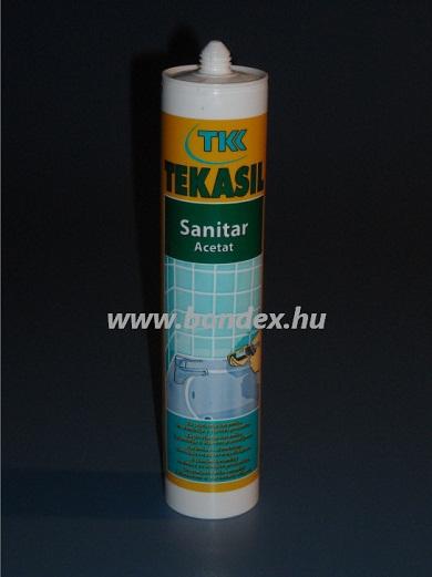 Szaniter szilikon tömítő  (280ml kartusos)