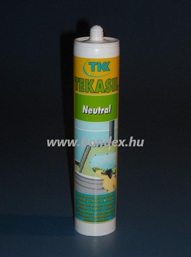 Neutrális szilikon tömítő ragasztó TKK (280ml kartusos)