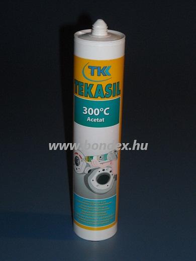 Hőálló szilikon tömítő ragasztó 300C TKK (300 ml kartusos)