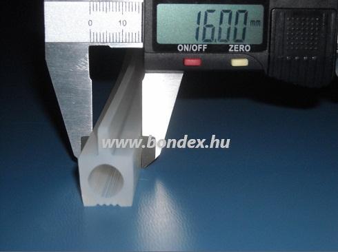Hőálló szilikon autokláv profil ( kemence tömítés )