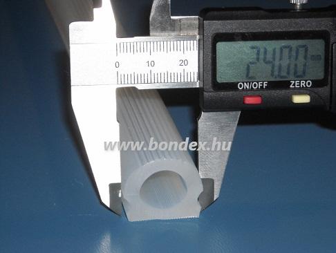 Hőálló szilikon kemence profil (kemenceajtó tömítés)