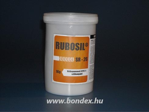 Önthető kétkomponensű szilikon (Rubosil SR-26 1 kg)