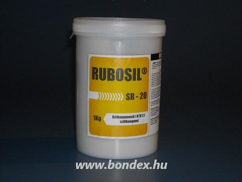 Önthető szilikon Rubosil SR-20 (RTV-2 kétkomponensű szilikongumi)