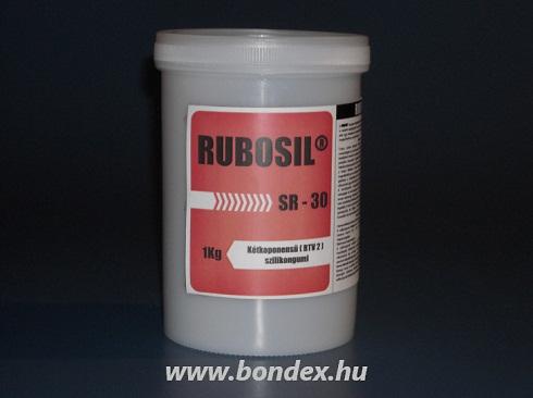Kétkomponensű önthető szilikon RUBOSIL SR-30 (1KG)
