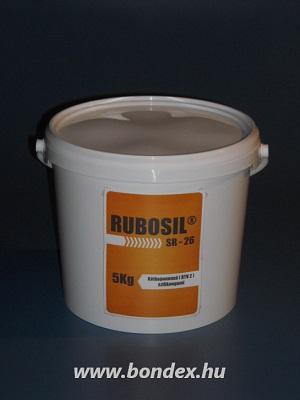 Önthető kétkomponensű szilikon RUBOSIL SR-26 (5kg)