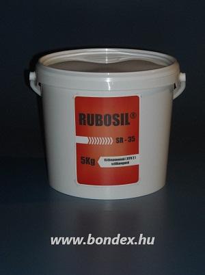 Önthető szilikon RUBOSIL RTV-2 SR-35 (5KG)