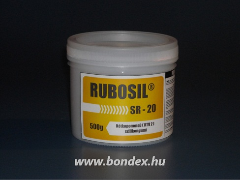 Önthető szilikon RUBOSIL SR-20 (0.5kg)