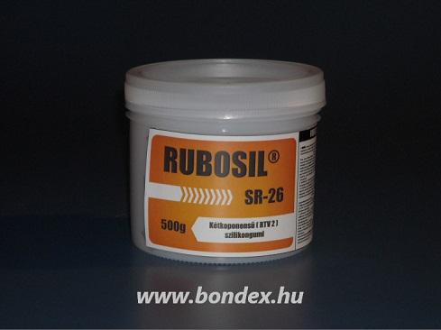 Önthető szilikon Rubosil SR-26 (0.5 kg)