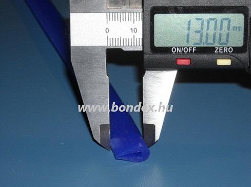 Szilikon élvédő profil 3 mm (íves éltakaró)