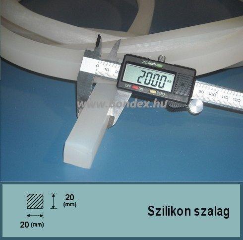 20x20 mm négyzetes szilikon szalag (négyzet alakú)