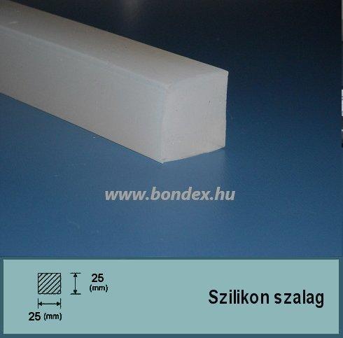 25x25 mm négyzetes szilikon szalag (négyzet alakú)